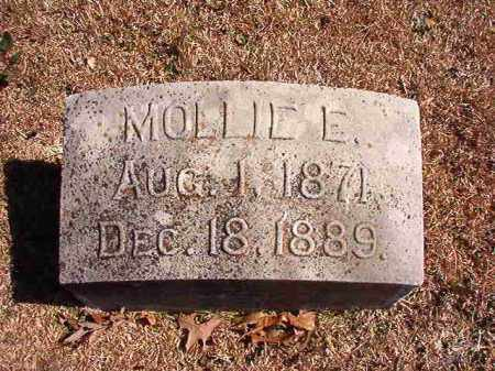 SMITH, MOLLIE E - Dallas County, Arkansas | MOLLIE E SMITH - Arkansas Gravestone Photos