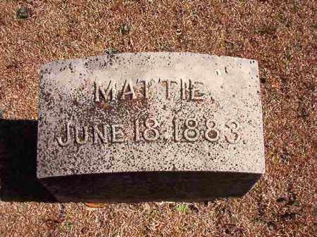 SMITH, MATTIE - Dallas County, Arkansas | MATTIE SMITH - Arkansas Gravestone Photos