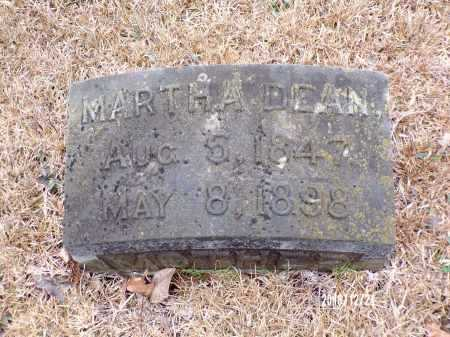 DEAN SMITH, MARTHA - Dallas County, Arkansas | MARTHA DEAN SMITH - Arkansas Gravestone Photos