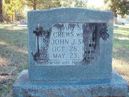 CREWS SMITH, MARY SUDIE - Dallas County, Arkansas | MARY SUDIE CREWS SMITH - Arkansas Gravestone Photos