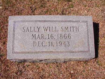 SMITH, SALLY WILL - Dallas County, Arkansas | SALLY WILL SMITH - Arkansas Gravestone Photos