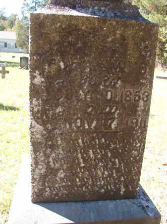 SMITH, W A - Dallas County, Arkansas   W A SMITH - Arkansas Gravestone Photos