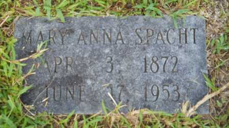 SPACHT, MARY ANNA - Dallas County, Arkansas | MARY ANNA SPACHT - Arkansas Gravestone Photos