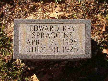 SPRAGGINS, EDWARD KEY - Dallas County, Arkansas | EDWARD KEY SPRAGGINS - Arkansas Gravestone Photos