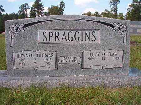SPRAGGINS, HOWARD THOMAS - Dallas County, Arkansas | HOWARD THOMAS SPRAGGINS - Arkansas Gravestone Photos