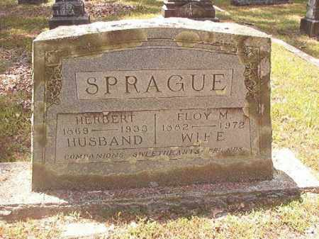 SPRAGUE, FLOY M - Dallas County, Arkansas | FLOY M SPRAGUE - Arkansas Gravestone Photos
