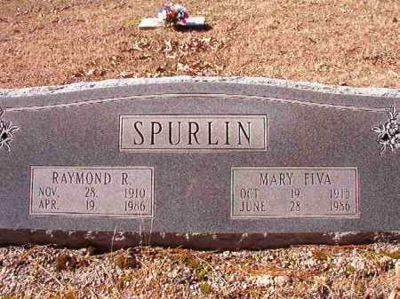 SPURLIN, MARY ELVA - Dallas County, Arkansas | MARY ELVA SPURLIN - Arkansas Gravestone Photos
