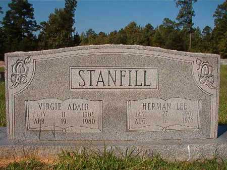 ADAIR STANFILL, VIRGIE - Dallas County, Arkansas | VIRGIE ADAIR STANFILL - Arkansas Gravestone Photos