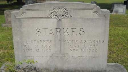 STARKES, MATTIE J - Dallas County, Arkansas | MATTIE J STARKES - Arkansas Gravestone Photos