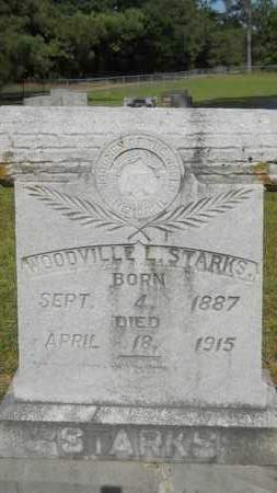 STARKS, WOODVILLE L - Dallas County, Arkansas | WOODVILLE L STARKS - Arkansas Gravestone Photos
