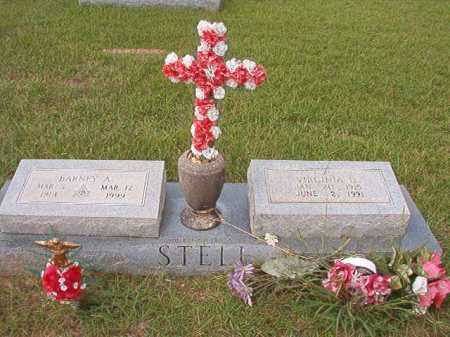 STELL, VIRGINIA D - Dallas County, Arkansas | VIRGINIA D STELL - Arkansas Gravestone Photos