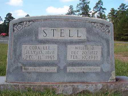 STELL, CORA LEE - Dallas County, Arkansas | CORA LEE STELL - Arkansas Gravestone Photos
