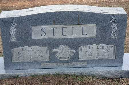 CHULPP STELL, BEULAH L. - Dallas County, Arkansas | BEULAH L. CHULPP STELL - Arkansas Gravestone Photos