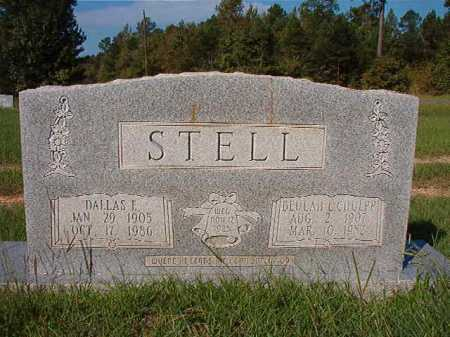 CHULPP STELL, BEULAH L - Dallas County, Arkansas | BEULAH L CHULPP STELL - Arkansas Gravestone Photos