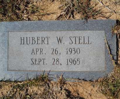 STELL, HUBERT W - Dallas County, Arkansas   HUBERT W STELL - Arkansas Gravestone Photos