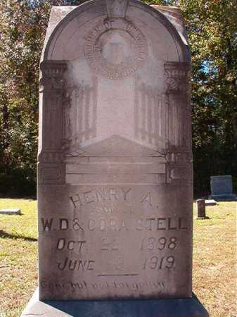 STELL, HENRY ASBURY - Dallas County, Arkansas | HENRY ASBURY STELL - Arkansas Gravestone Photos