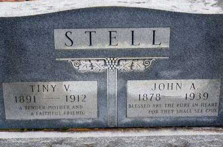 HEARNE STELL, TINY V. - Dallas County, Arkansas | TINY V. HEARNE STELL - Arkansas Gravestone Photos