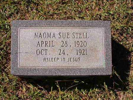 STELL, NAOMA SUE - Dallas County, Arkansas | NAOMA SUE STELL - Arkansas Gravestone Photos