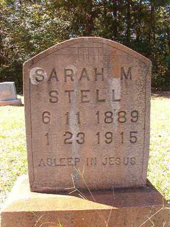 STELL, SARAH M - Dallas County, Arkansas | SARAH M STELL - Arkansas Gravestone Photos