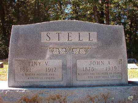 STELL, JOHN ANDREW - Dallas County, Arkansas | JOHN ANDREW STELL - Arkansas Gravestone Photos
