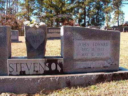 STEVENSON, JOHN EDWARD - Dallas County, Arkansas | JOHN EDWARD STEVENSON - Arkansas Gravestone Photos