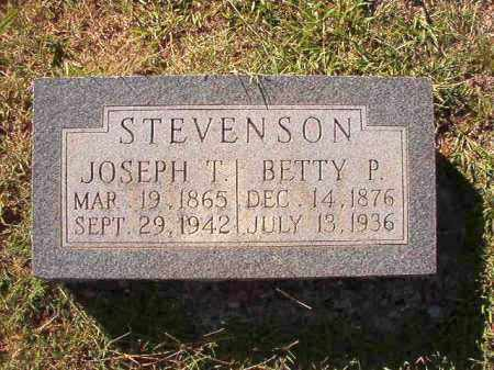 STEVENSON, JOSEPH T - Dallas County, Arkansas | JOSEPH T STEVENSON - Arkansas Gravestone Photos