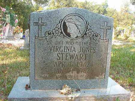 JONES STEWART, VIRGINIA - Dallas County, Arkansas | VIRGINIA JONES STEWART - Arkansas Gravestone Photos