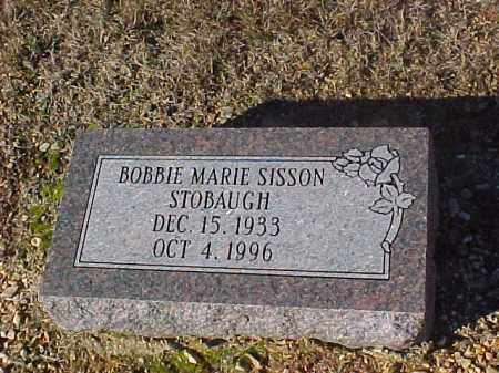 SISSON STOBAUGH, BOBBIE MARIE - Dallas County, Arkansas | BOBBIE MARIE SISSON STOBAUGH - Arkansas Gravestone Photos