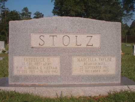 STOLZ, FREDERICK H - Dallas County, Arkansas | FREDERICK H STOLZ - Arkansas Gravestone Photos