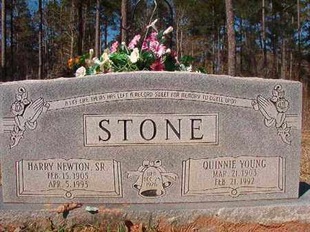 YOUNG STONE, QUINNIE - Dallas County, Arkansas | QUINNIE YOUNG STONE - Arkansas Gravestone Photos