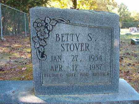 STOVER, BETTY S - Dallas County, Arkansas | BETTY S STOVER - Arkansas Gravestone Photos