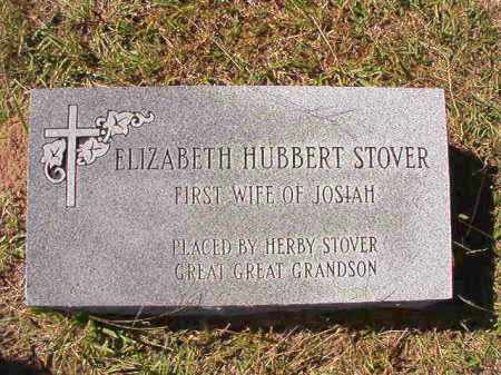 STOVER, ELIZABETH - Dallas County, Arkansas | ELIZABETH STOVER - Arkansas Gravestone Photos
