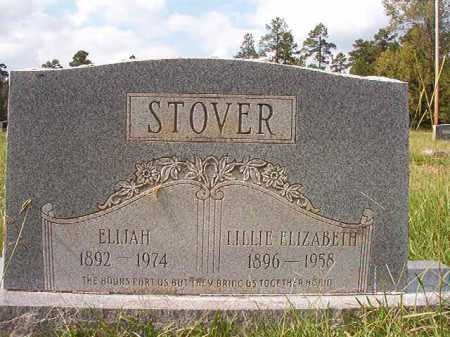 STOVER, LILLIE ELIZABETH - Dallas County, Arkansas | LILLIE ELIZABETH STOVER - Arkansas Gravestone Photos