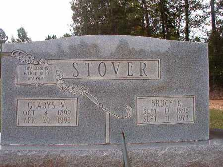 STOVER, GLADYS V - Dallas County, Arkansas | GLADYS V STOVER - Arkansas Gravestone Photos
