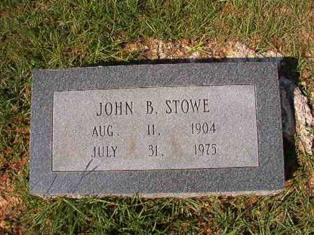 STOWE, JOHN B - Dallas County, Arkansas | JOHN B STOWE - Arkansas Gravestone Photos