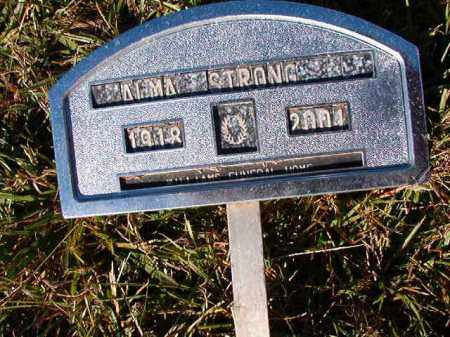 STRONG, ALMA - Dallas County, Arkansas | ALMA STRONG - Arkansas Gravestone Photos