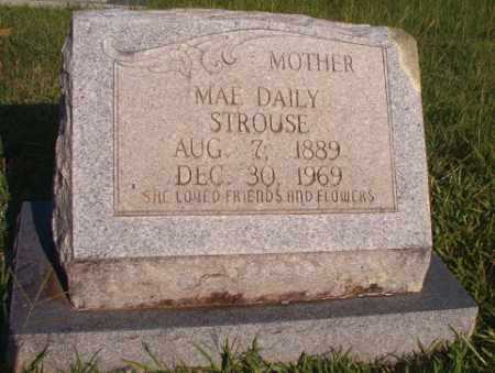 DAILY STROUSE, MAE - Dallas County, Arkansas | MAE DAILY STROUSE - Arkansas Gravestone Photos