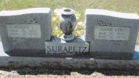 SURAPETZ, ANNIE LOU - Dallas County, Arkansas | ANNIE LOU SURAPETZ - Arkansas Gravestone Photos