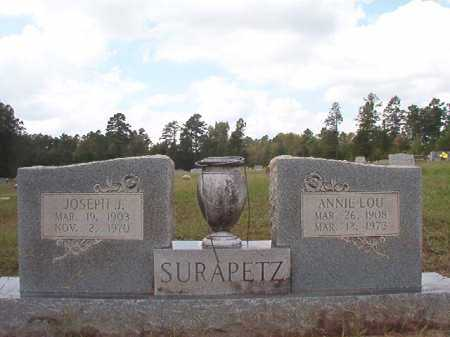 SURAPETZ, JOSEPH J - Dallas County, Arkansas | JOSEPH J SURAPETZ - Arkansas Gravestone Photos