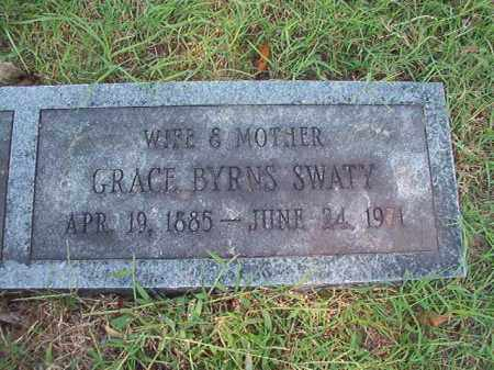 SWATY, GRACE - Dallas County, Arkansas | GRACE SWATY - Arkansas Gravestone Photos
