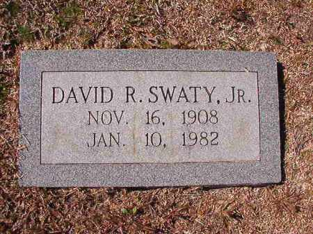 SWATY, JR, DAVID R - Dallas County, Arkansas | DAVID R SWATY, JR - Arkansas Gravestone Photos