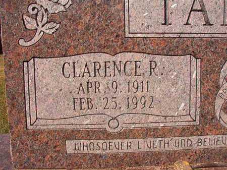 TANNER, CLARENCE R - Dallas County, Arkansas | CLARENCE R TANNER - Arkansas Gravestone Photos