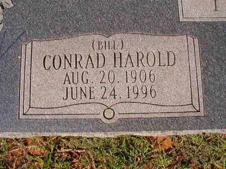 TANNER, CONRAD HAROLD (BILL) - Dallas County, Arkansas | CONRAD HAROLD (BILL) TANNER - Arkansas Gravestone Photos