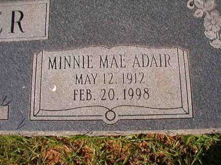 ADAIR TANNER, MINNIE MAE - Dallas County, Arkansas | MINNIE MAE ADAIR TANNER - Arkansas Gravestone Photos
