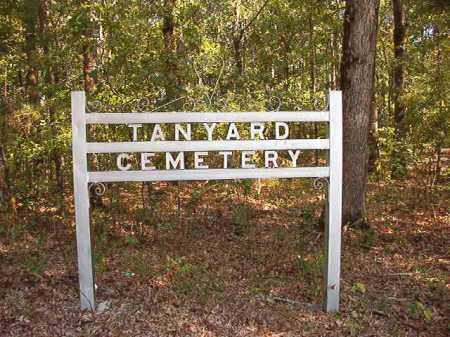 *TANYARD, CEMETERY - Dallas County, Arkansas | CEMETERY *TANYARD - Arkansas Gravestone Photos