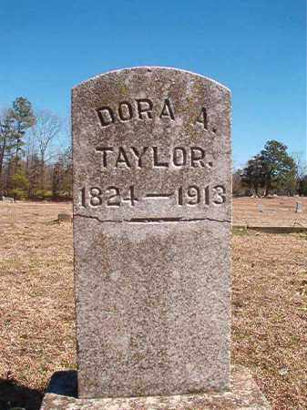 TAYLOR, DORA A - Dallas County, Arkansas | DORA A TAYLOR - Arkansas Gravestone Photos