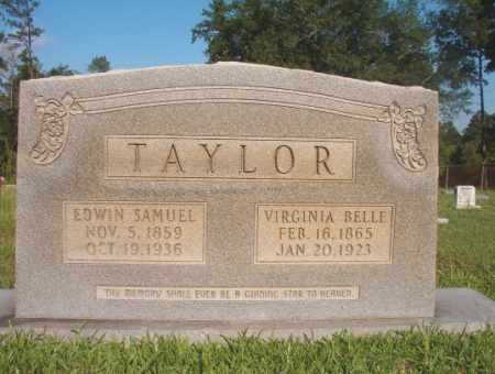 TAYLOR, EDWIN SAMUEL - Dallas County, Arkansas | EDWIN SAMUEL TAYLOR - Arkansas Gravestone Photos