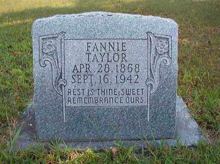 TAYLOR, FANNIE - Dallas County, Arkansas | FANNIE TAYLOR - Arkansas Gravestone Photos