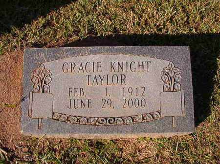 KNIGHT TAYLOR, GRACIE - Dallas County, Arkansas | GRACIE KNIGHT TAYLOR - Arkansas Gravestone Photos