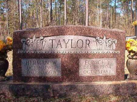 TAYLOR, EUNICE Y - Dallas County, Arkansas | EUNICE Y TAYLOR - Arkansas Gravestone Photos